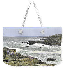 Shipwrecked Weekender Tote Bag