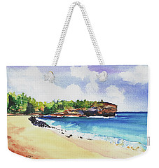 Shipwreck's Beach 2 Weekender Tote Bag