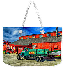 Shipyard Work Truck Weekender Tote Bag