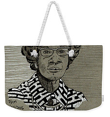 Shirley Chisholm Weekender Tote Bag