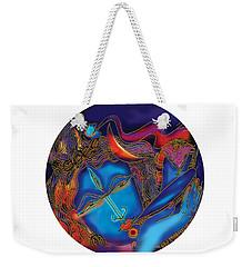 Shiva Blowing The Horn Weekender Tote Bag