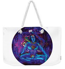 Shiva In Meditation Weekender Tote Bag