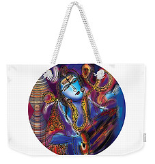 Shiva Playing The Drums Weekender Tote Bag