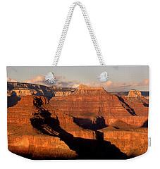 Shiva Temple  At Sunset Grand Canyon National Park Weekender Tote Bag