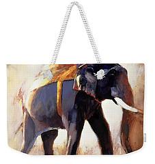 Shivaji  Khana Weekender Tote Bag by Mark Adlington