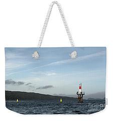 Shoal Marker Weekender Tote Bag