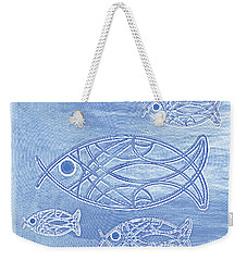 Shoal Of Fish Abstract Weekender Tote Bag