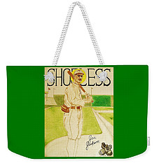 Shoeless Joe Jackson Weekender Tote Bag