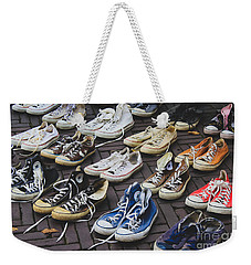 Shoes At A Flea Market Weekender Tote Bag