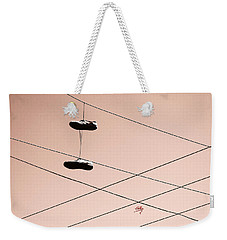 Shoes On A Wire Weekender Tote Bag