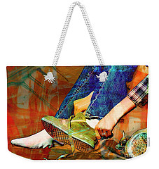 Shoes To Go Weekender Tote Bag by Bob Pardue