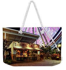 Shootin Gallery At The Wheel Weekender Tote Bag