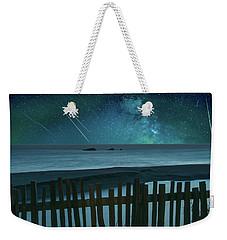 Shooting Stars Weekender Tote Bag by Marius Sipa