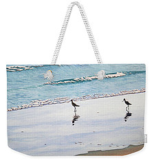 Shore Birds Weekender Tote Bag by Mike Robles