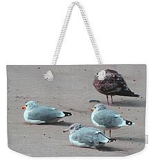 Shore Birds Weekender Tote Bag by Tom Janca