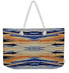 Shore Lines Weekender Tote Bag