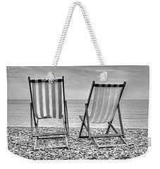 Shore Seats Weekender Tote Bag by Hazy Apple