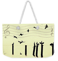 Shore Song Weekender Tote Bag by Deborah Smith