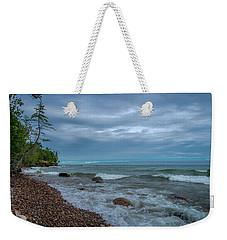 Shoreline Clouds Weekender Tote Bag