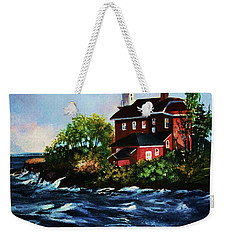 Shoreline Light Weekender Tote Bag