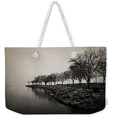 Shoreline Mist Weekender Tote Bag by Shawna Rowe