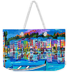 Shores Of Italy Weekender Tote Bag