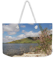 Shores Of Lake Skinner Weekender Tote Bag by Suzanne Oesterling