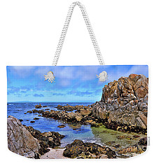 Weekender Tote Bag featuring the photograph Shores Of Pacific Grove  by Gina Savage