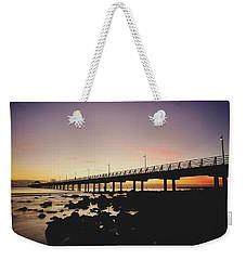 Shorncliffe Pier At Dawn Weekender Tote Bag