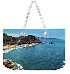 Weekender Tote Bag featuring the photograph Short Beach, Oregon by John Hight
