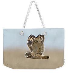Short-eared Owl Hunting Weekender Tote Bag