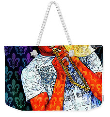 Shorty Weekender Tote Bag by Tammy Wetzel