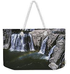 Shoshone Falls Idaho Weekender Tote Bag