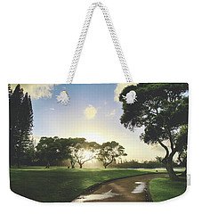 Weekender Tote Bag featuring the photograph Show Me The Way by Laurie Search