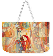 Weekender Tote Bag featuring the digital art Shower Curtain No 1 by Robert G Kernodle