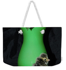 Showing Off My Fancy Side Weekender Tote Bag by Donna Brown