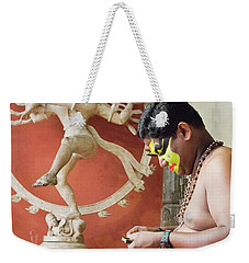 Kathakali Make-up Weekender Tote Bag by Marion Galt