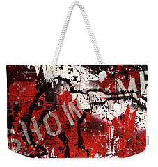Showtime At The Madhouse Weekender Tote Bag