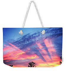 Showtime Sunset Weekender Tote Bag