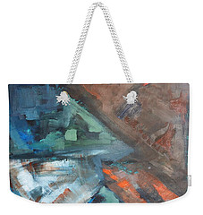 Shraps And Shards Abstraction Weekender Tote Bag