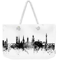 Shrewsbury England Skyline Weekender Tote Bag