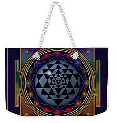 Shri Yantra Weekender Tote Bag