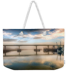 Shrimp Boats At Sunrise Weekender Tote Bag