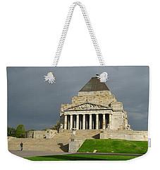 Shrine Of Remembrance Weekender Tote Bag