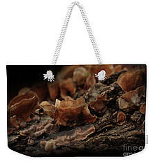 Weekender Tote Bag featuring the photograph Shrooms by Kim Henderson