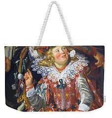 Shrovetide Revellers The Merry Company Weekender Tote Bag
