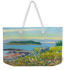 Shut In Island  Weekender Tote Bag