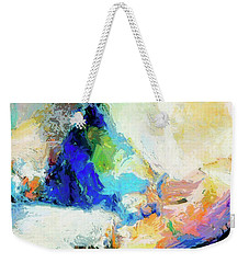 Weekender Tote Bag featuring the painting Shuttle by Dominic Piperata