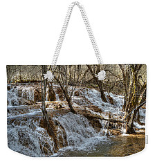 Shuzheng Waterfall China Weekender Tote Bag