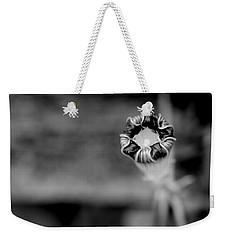 Weekender Tote Bag featuring the photograph Shy by Corinne Rhode